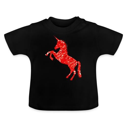 unicorn red - Koszulka niemowlęca