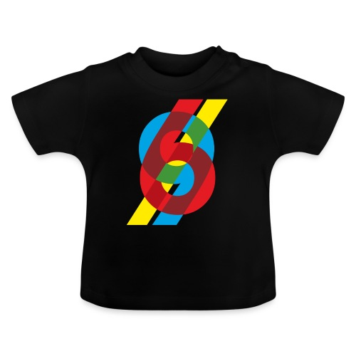 colorful numbers - Baby T-Shirt
