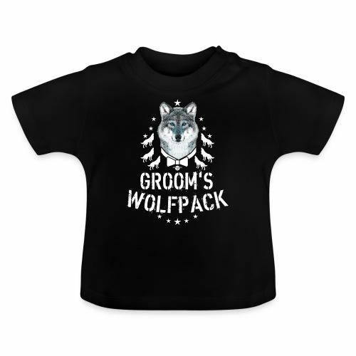 164 Wolf JGA GROOM'S Wolfpack - Baby T-Shirt