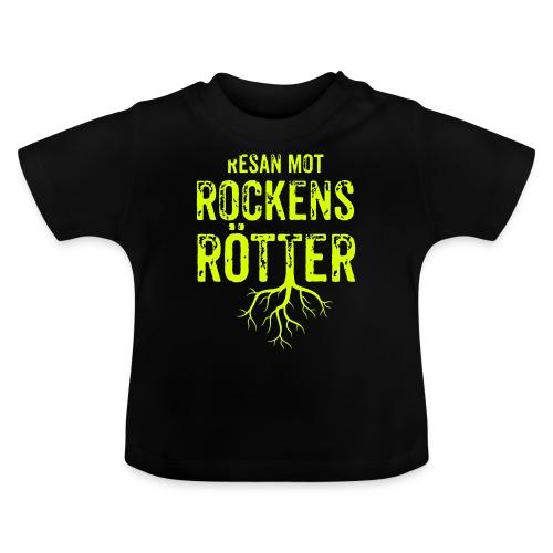 Fotbollströja svart. Resan mot rockens rötter. - Baby-T-shirt