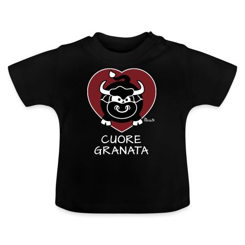 Torino Cuore Granata, Football Club, Calcio Italia - T-shirt Bébé