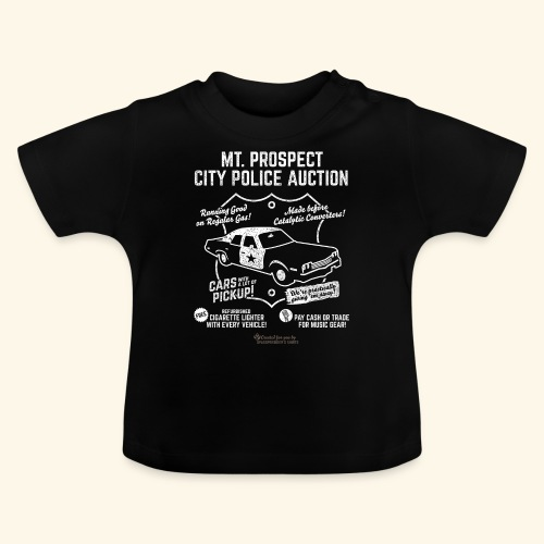 Mount Prospect Police Auction Geek T-Shirt - Baby T-Shirt