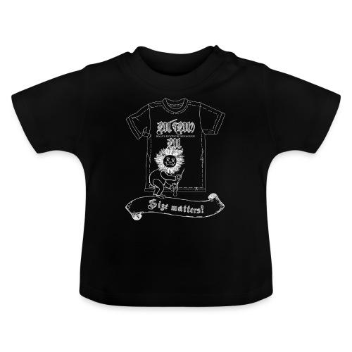 Size matters (Karlchen die Kalorie) - Weiß - Baby T-Shirt