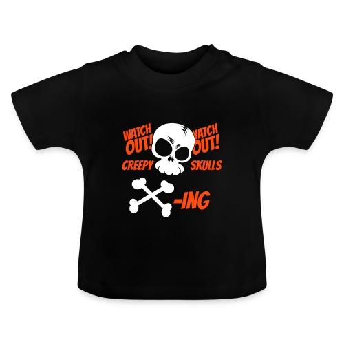 Skulls Crossing - Baby T-Shirt
