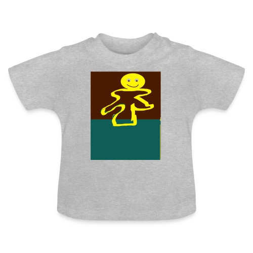 Glad mand - Baby T-shirt