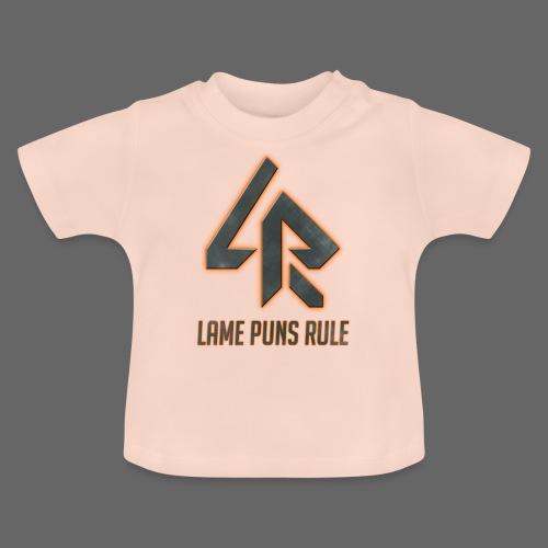 Lame Puns Rule: Logo - Baby T-Shirt