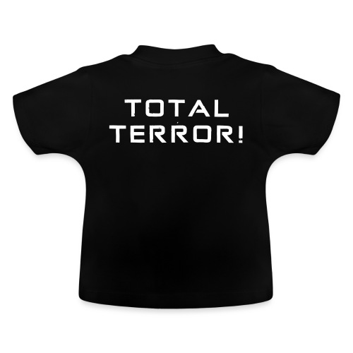 White Negant logo + TOTAL TERROR! - Baby T-shirt