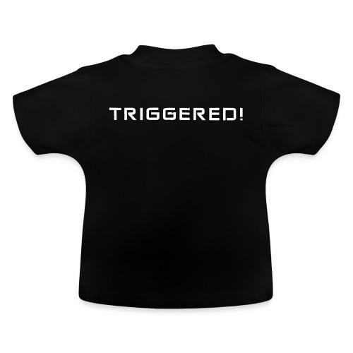 White Negant logo + TRIGGERED! - Baby T-shirt