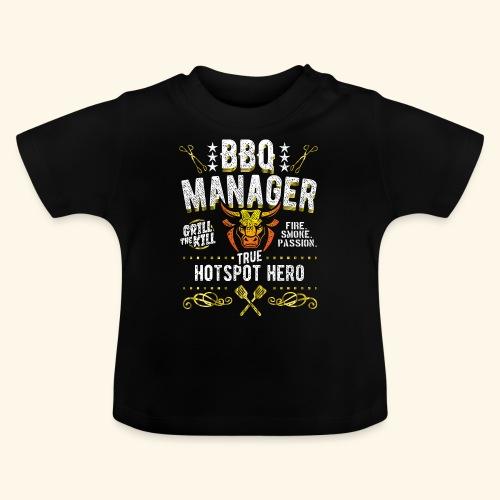 Geschenkidee: Grillshirt BBQ Manager - Baby T-Shirt
