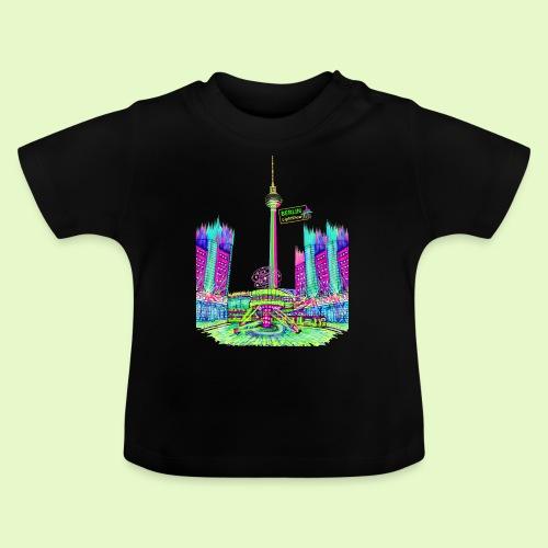 Berlin Alexanderplatz / BerlinLightShow /PopArt - Baby T-Shirt