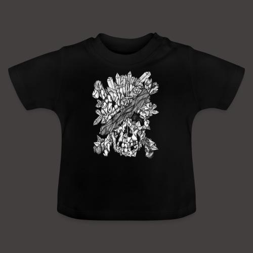 Crane de Pirate de Cristal Noir et Blanc - T-shirt Bébé