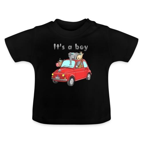 It's a boy - Baby - Cartoon - lustig - Baby T-Shirt