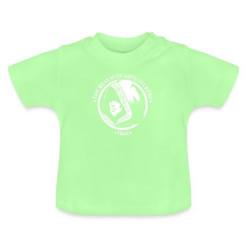 TRoA Logo hvid - Baby T-shirt