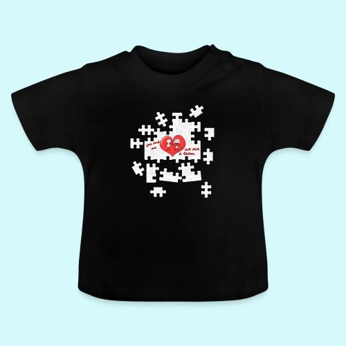 Love / Beziehung - Du & Ich, Team Partner Puzzle - Baby T-Shirt