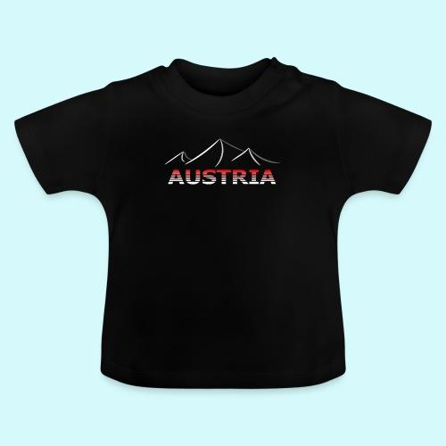 Austria - Österreich Berge T-Shirt - Baby T-Shirt