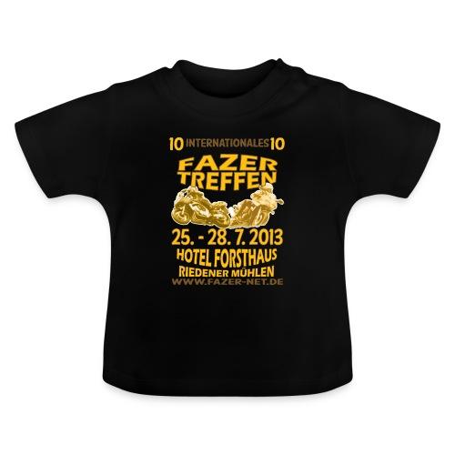 ift10logo gold korr - Baby T-Shirt