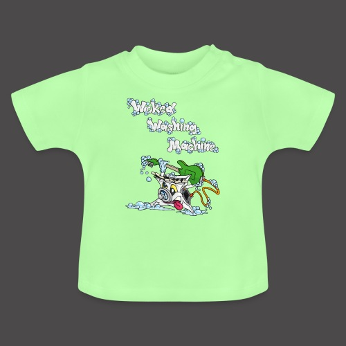 Wicked Washing Machine Cartoon and Logo - Baby T-shirt