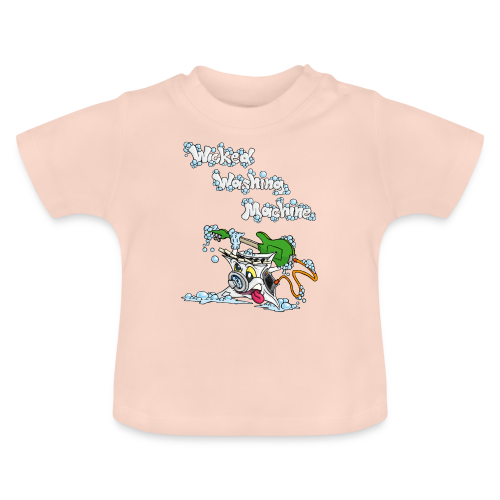 Wicked Washing Machine Cartoon and Logo - Baby T-shirt