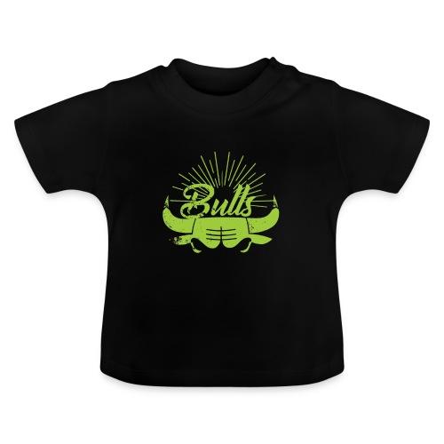 Toros verdes, Bulls BasketBall deporte - Camiseta bebé