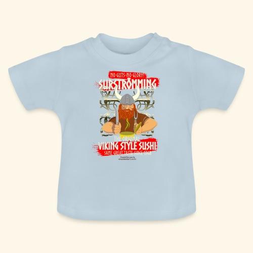 Surströmming Challenge Viking Sushi T-Shirt - Baby T-Shirt