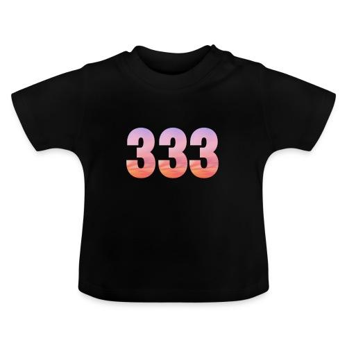 333 vous étes entouré de maitres ascensionnés - T-shirt Bébé