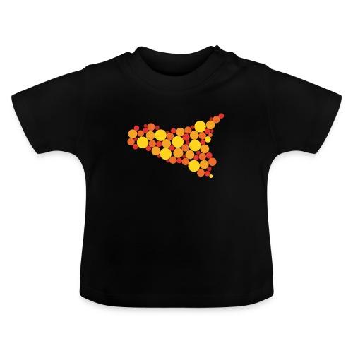 logo sicilia piccolo - Maglietta per neonato