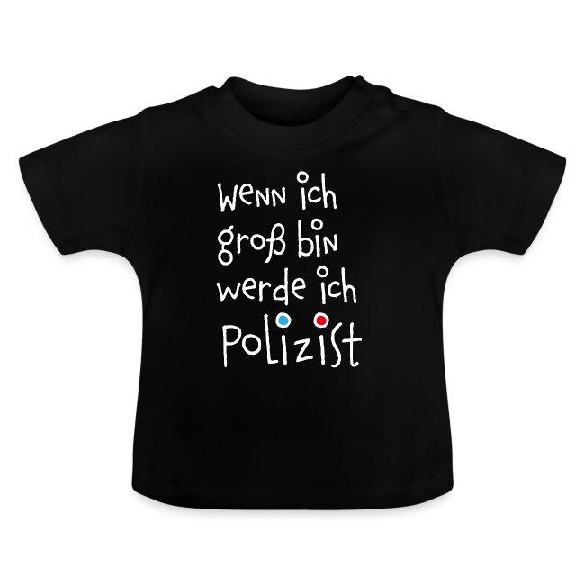Wenn ich groß bin ... Polizist