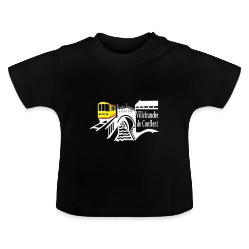 train jaune villefranche de conflent - Baby T-Shirt