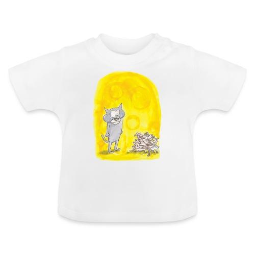 Le chat et les souris - T-shirt Bébé