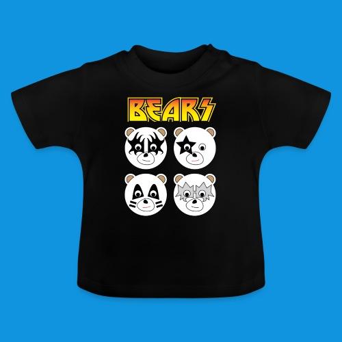 Kiss Bears square.png - Baby T-Shirt