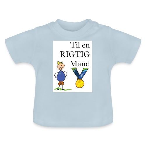 En rigtig mand - Baby T-shirt