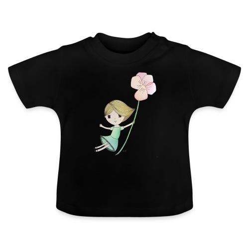 meisje met viool - Baby T-shirt