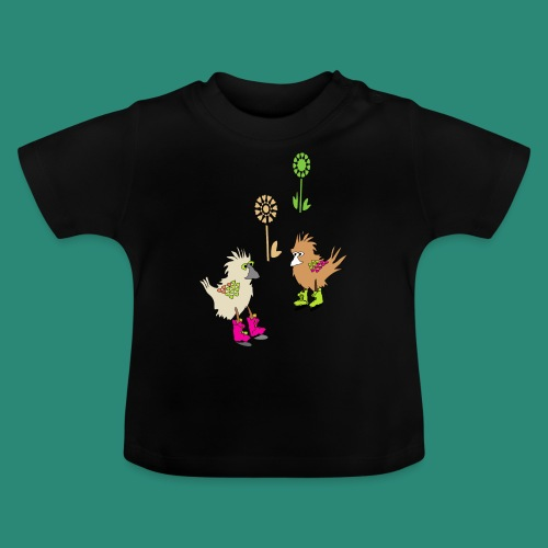 bunte vögel,Colorful birds - Baby T-Shirt