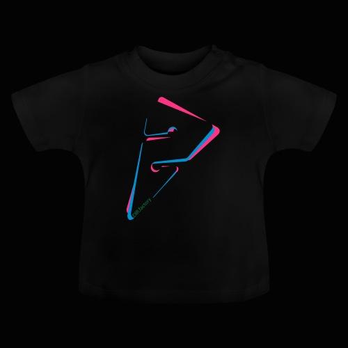 arrow freigestellt mit dirfactorytext - Baby T-Shirt