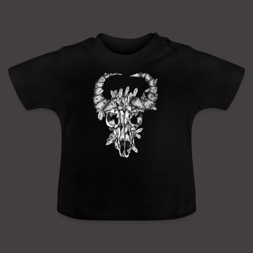 Buffle de Cristal Noir et Blanc - T-shirt Bébé