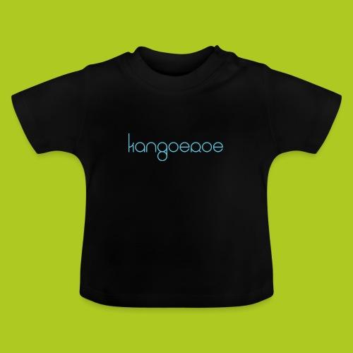 blue kangoeroe design - T-shirt Bébé