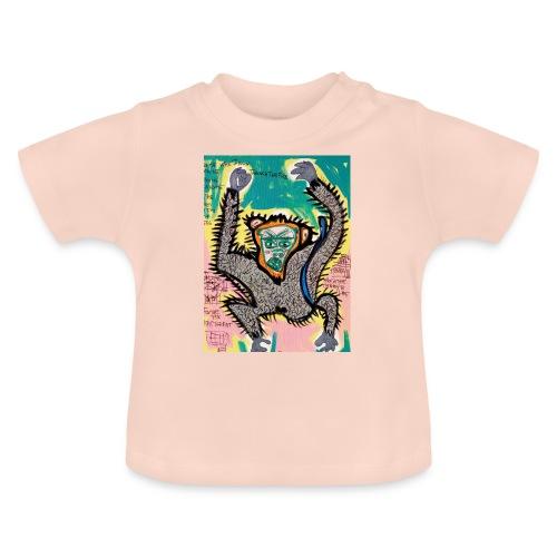 the monkey - Maglietta per neonato