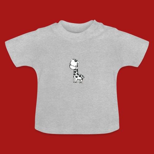 CuteBaby Giraf - Baby T-shirt