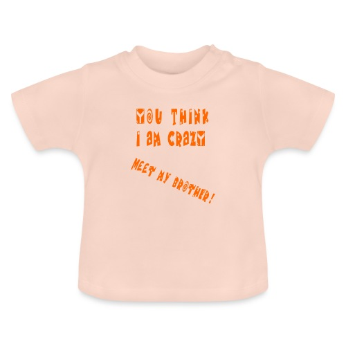 Crazy Brother - Vauvan t-paita