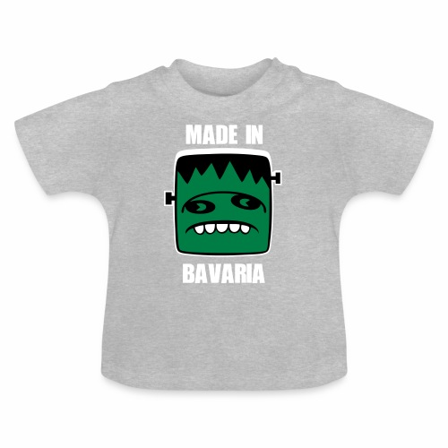 Fonster weiß made in Bavaria - Baby T-Shirt