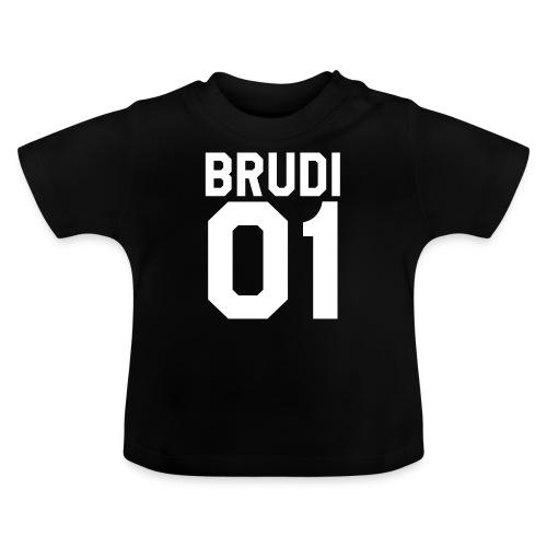 Brudi 01 Geschwister Beste Freunde Partnerlook - Baby T-Shirt