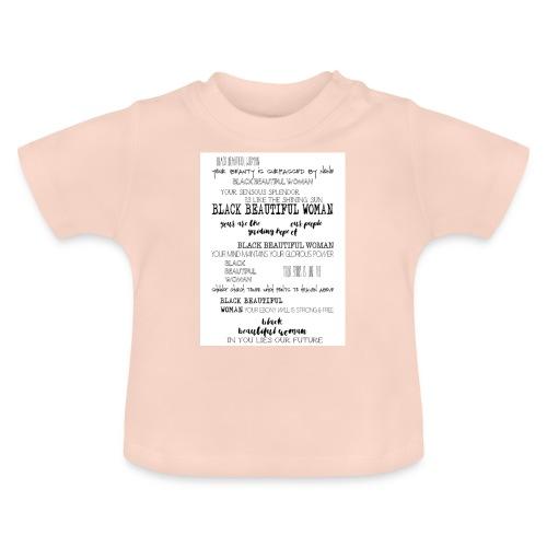 Beautiful Black Woman - Baby T-Shirt