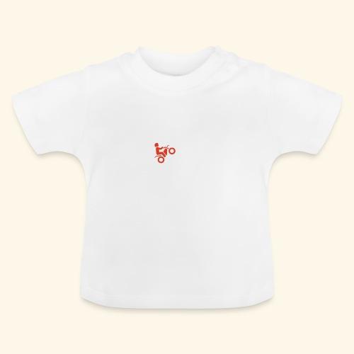 LOVE Cross white wheely red 001 - Baby T-Shirt