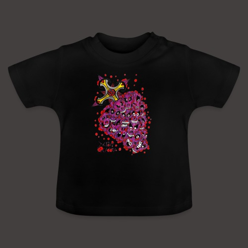 Cross Grapes - T-shirt Bébé