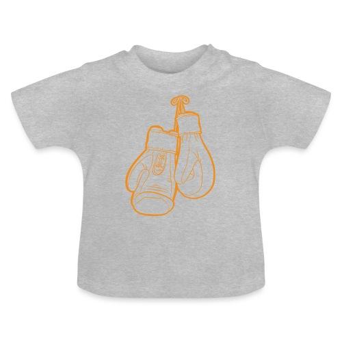 Boxhandschuhe Orange - Baby T-Shirt