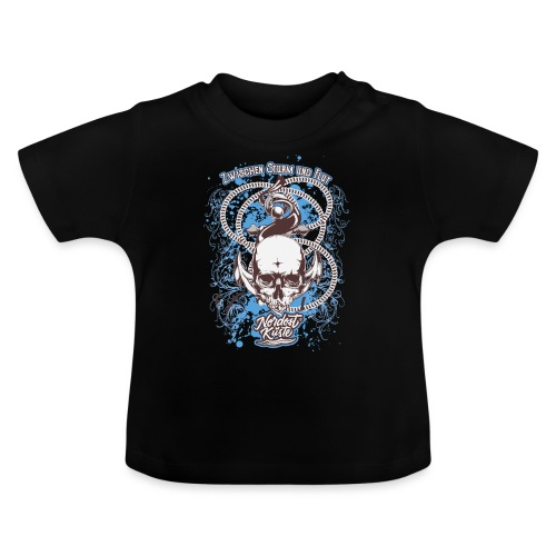 Skull Anker Design Art - Baby T-Shirt