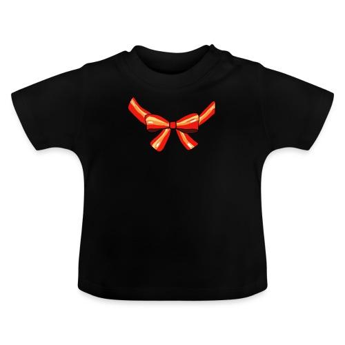 Schleife rot - Baby T-Shirt