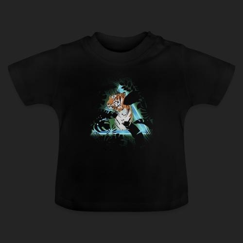 Tigre en soirée - T-shirt Bébé