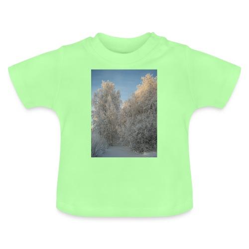 Talviset puut - Vauvan t-paita