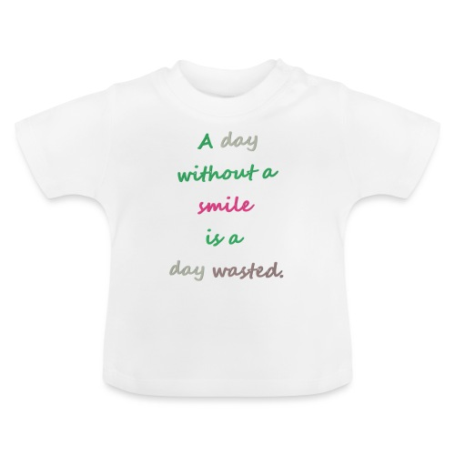Say in English with effect - Baby T-Shirt